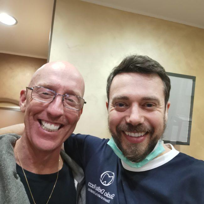 Caso clinico: ricostruzione diretta per frattura da trauma all'incisivo