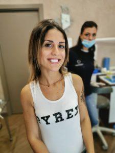 Caso clinico: sbiancamento dentale professionale